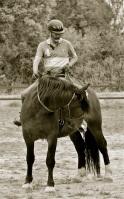 Pierre à cheval